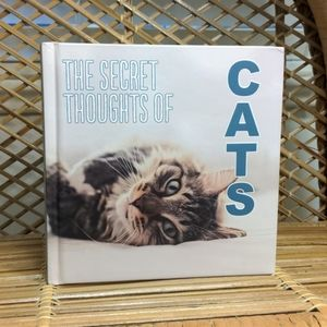 Cute Cat Thoughts Book